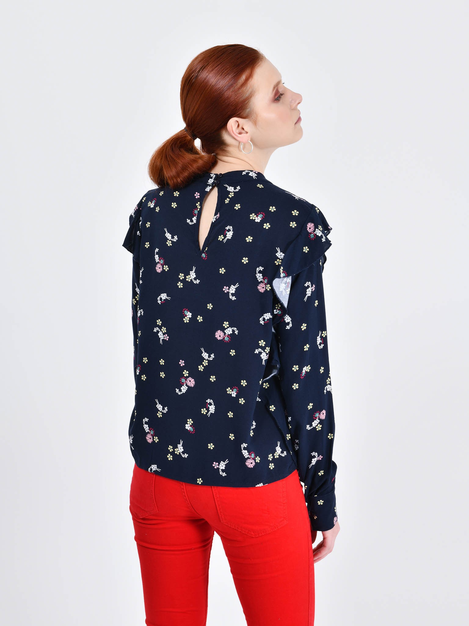 Cuidado con el Perro - Blusa Estampado Floral e47fcd146dcc4