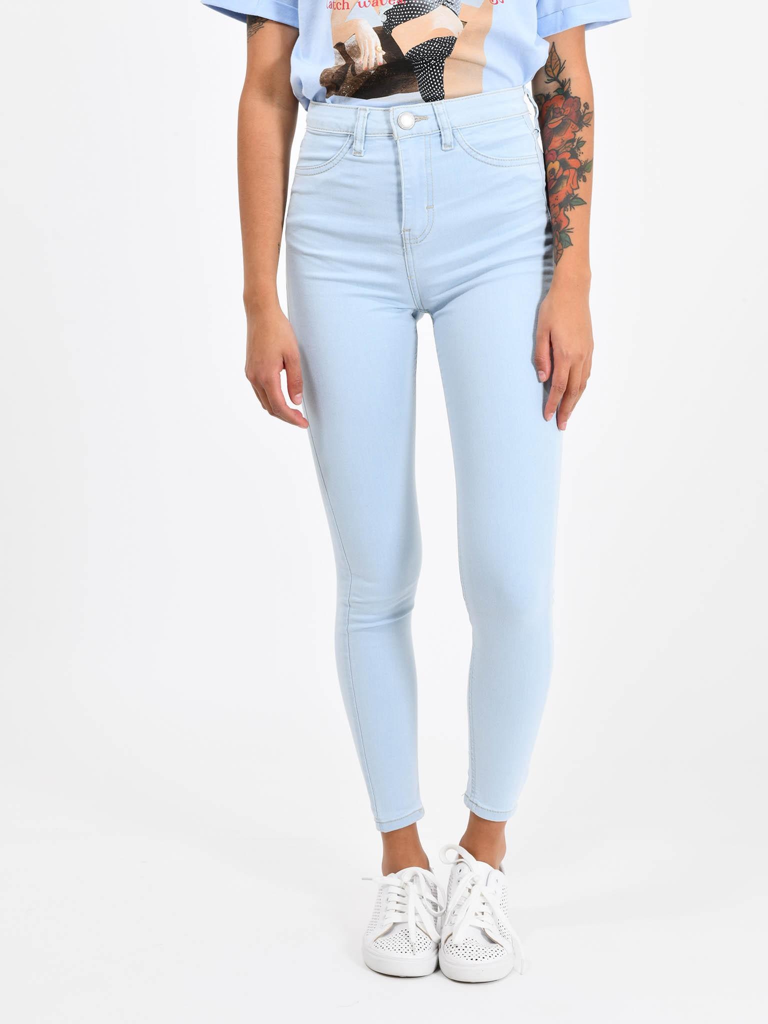 a9155d9266be Cuidado con el Perro - Jeans Básico Tiro Alto