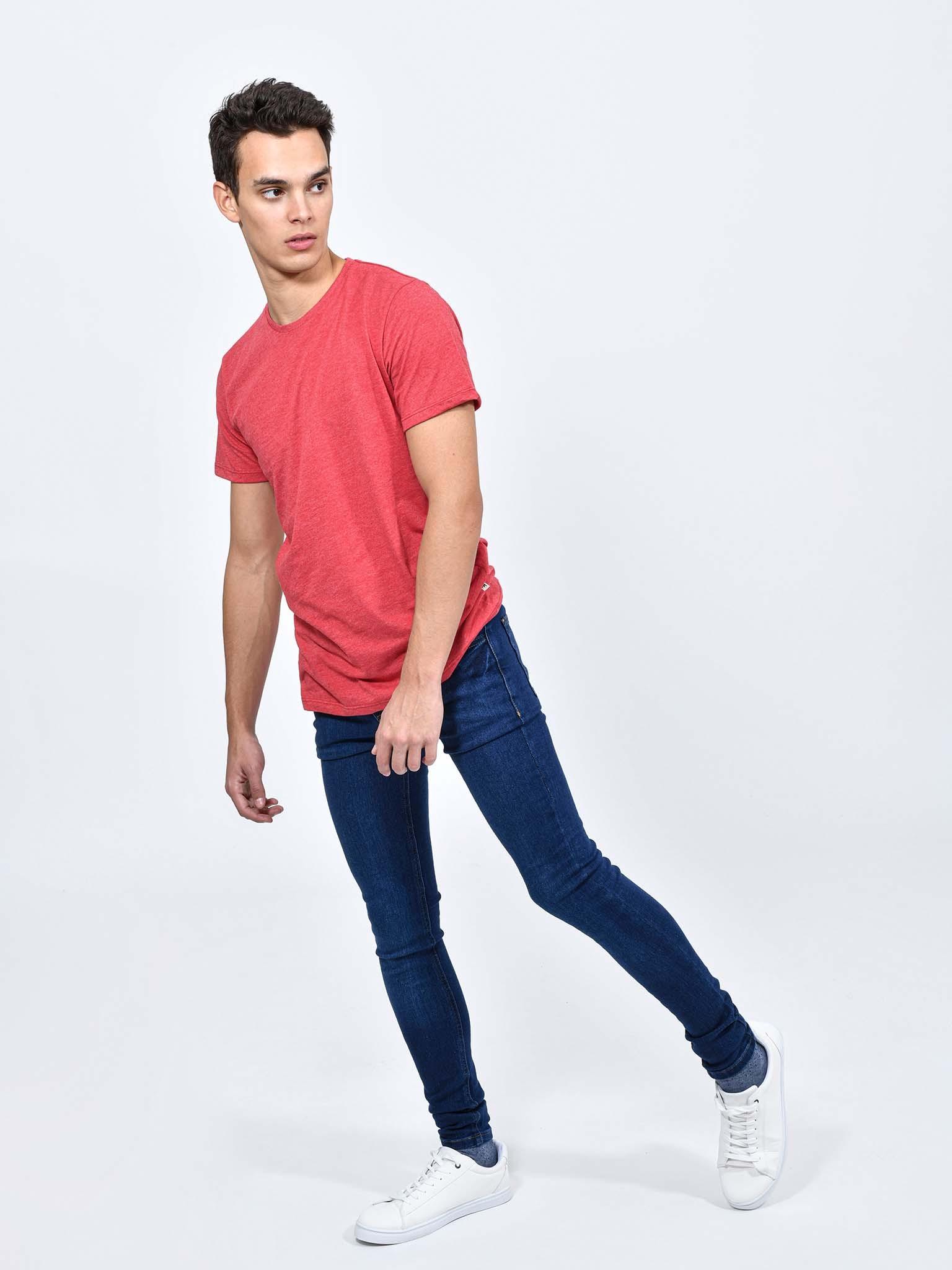 Jeans Denim Ultra Skinny Cuidado Con El Perro
