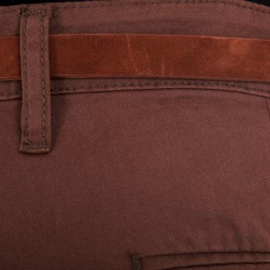 Pantalón Tipo Chino con Silueta Skinny y Cinturón Integrado