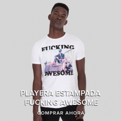 Playera Estampada Fucking Awesome