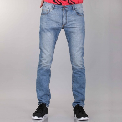 Pantalón de silueta slim con elastano para dar ajuste al cuerpo