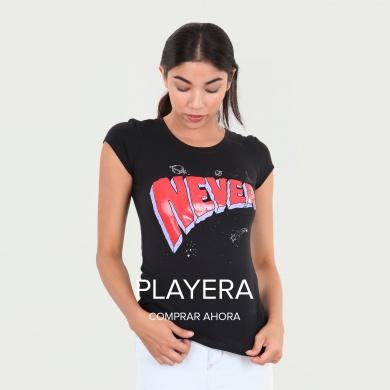 Playera Never