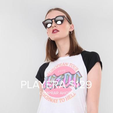 Playera AC / DC