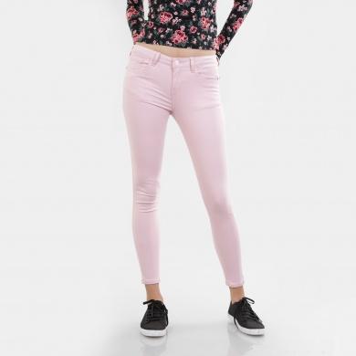 Pantalón skinny pastel