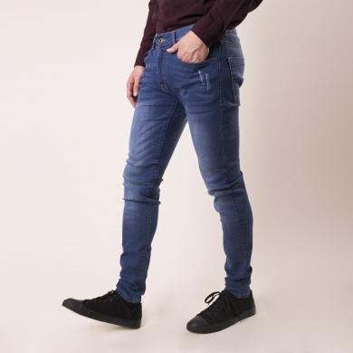 Jeans skinny deslavado