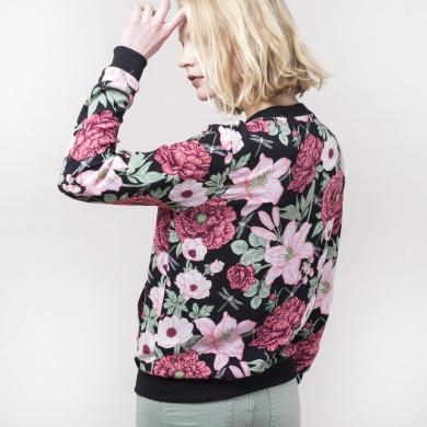 Chamarra ligera floral