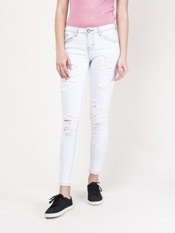 Jeans ultra skinny destrucciones