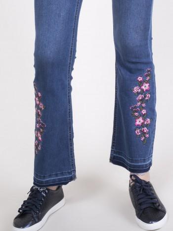 Jeans Acampanados Bordado