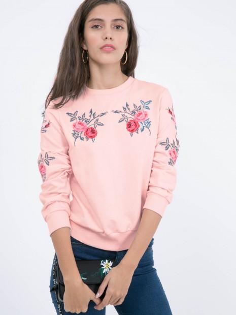 Sudadera Flores