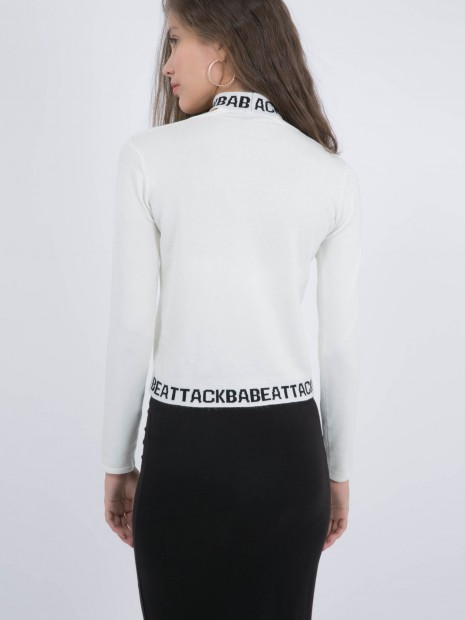 Suéter con Choker