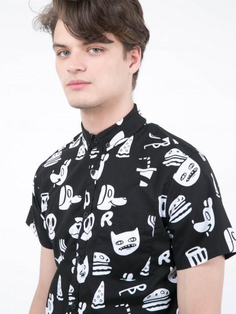 Camisa Manga Corta Gráficos