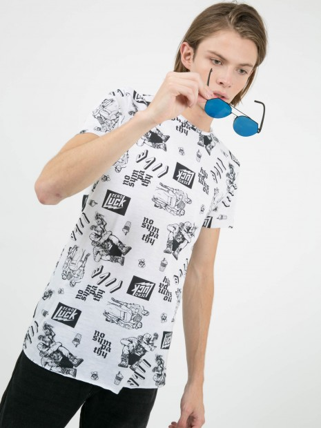 Playera Estampada 'Live'