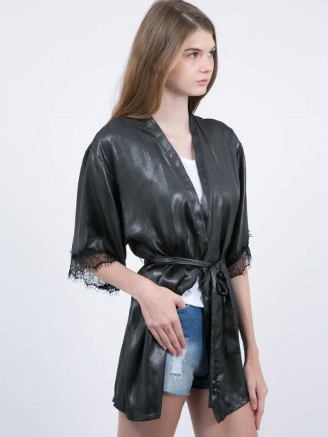 Kimono con Encaje