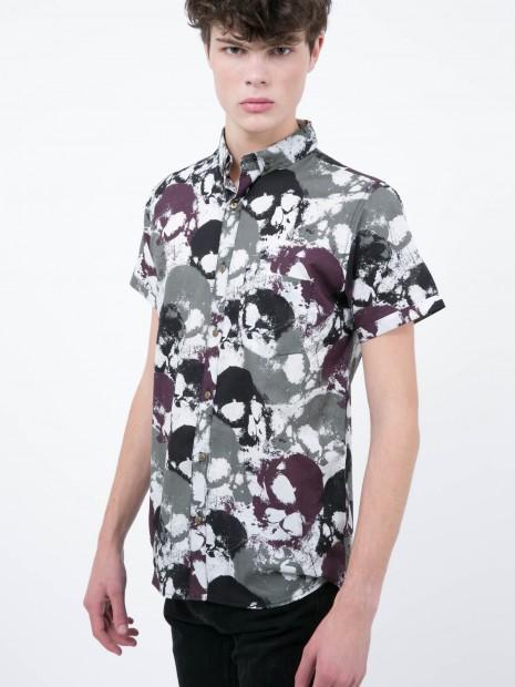 Camisa Manga Corta Cráneo