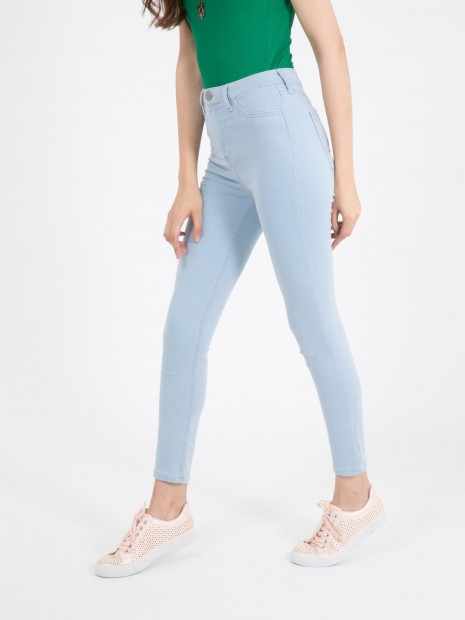 Jeans Básico Tiro Alto