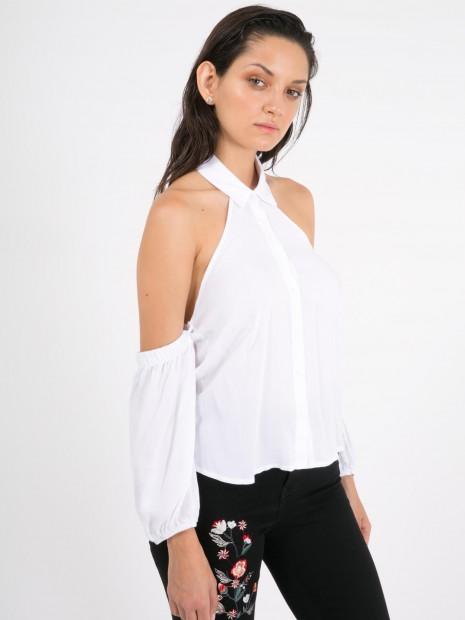 Blusa Cuello Camisero