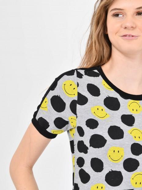 Playera 'Smiley'