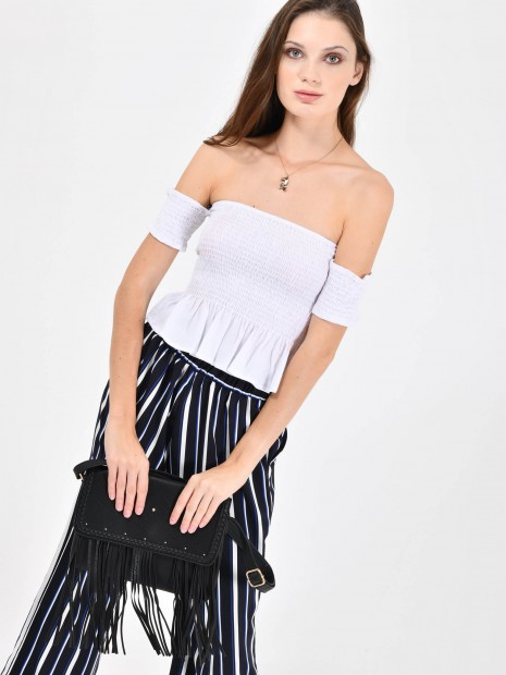 Crop Top Resorte