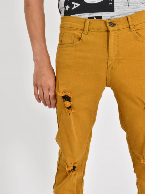 Jeans Skinny Destrucciones