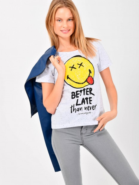 Playera Smiley