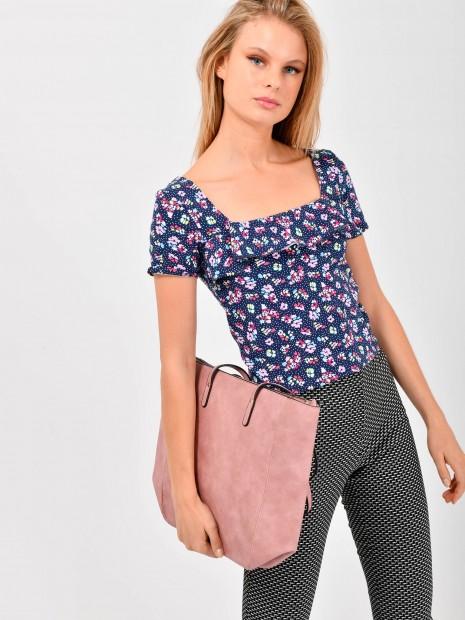 Blusa Grafico Flores | CCP