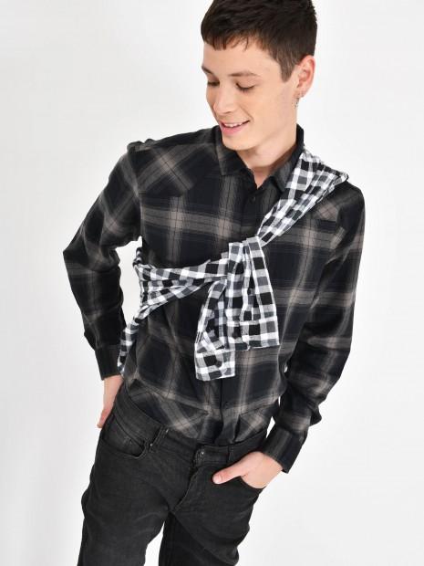 Camisa Estampado Cuadros | CCP