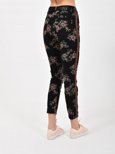 Jeans Estampado Flores