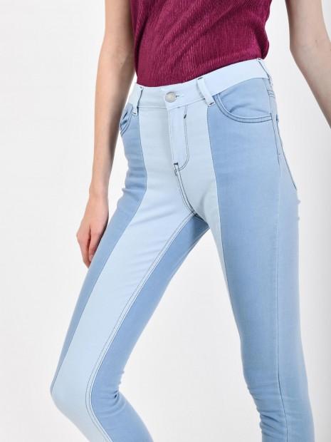 Jeans Skinny Bicolor