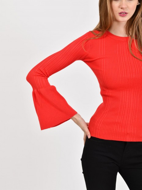 Suéter Manga Campana