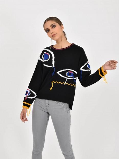 Suéter Ojos