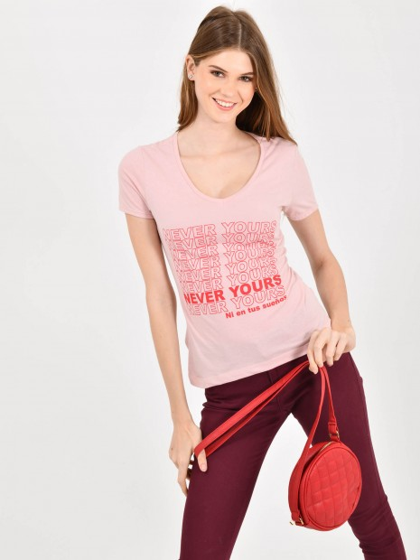Playera Never Yours | CCP