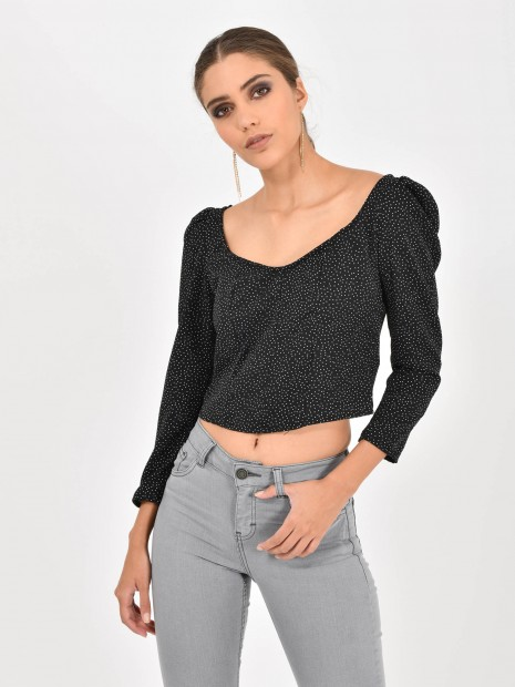 Crop Top Lunares | CCP