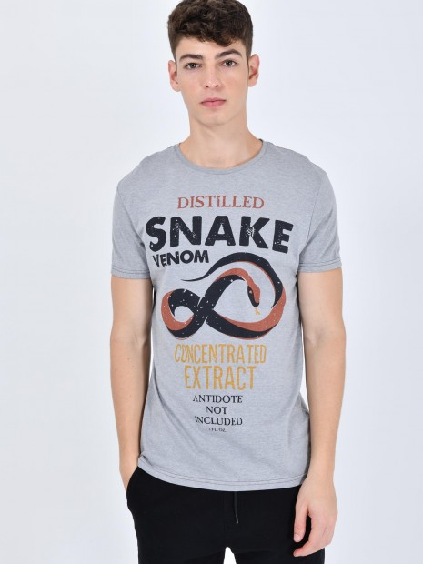 Playera Snake