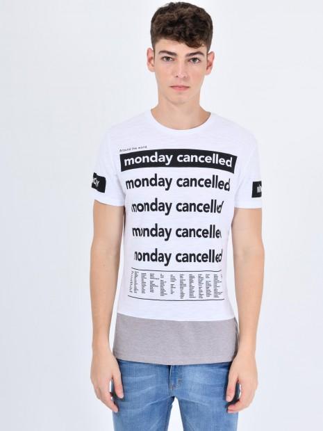 Playera 'Monday Canceled'