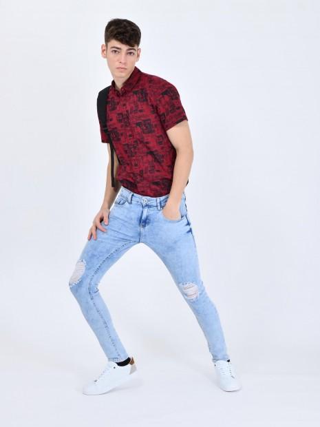 Jeans Desgastes