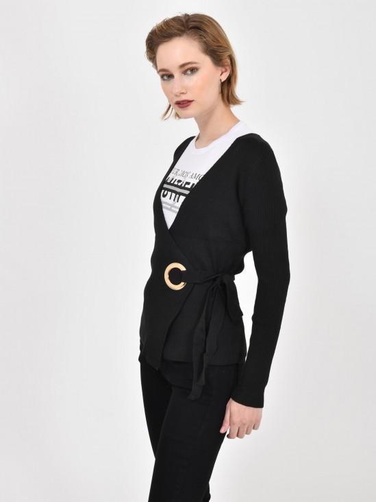 Suéter Cruzado