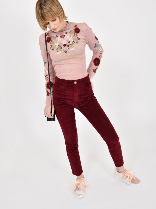 Blusa Floral Transparente | CCP