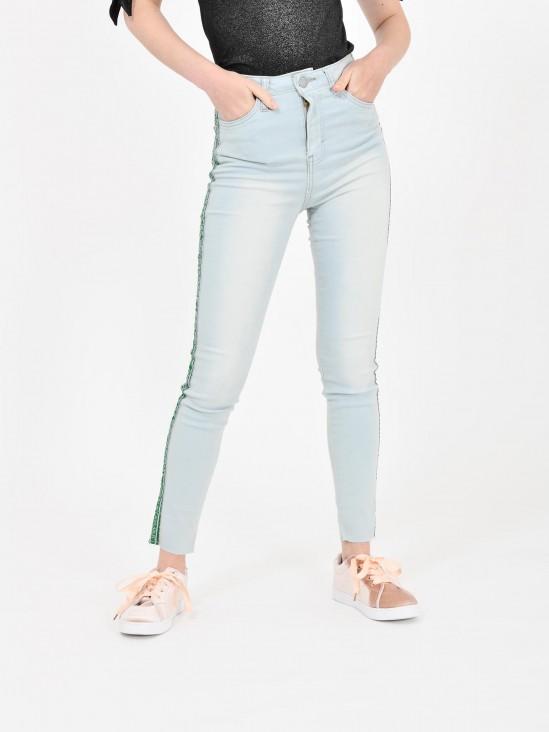 Jeans Banda Contraste