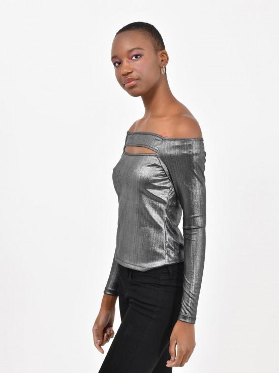 Blusa Metalizada