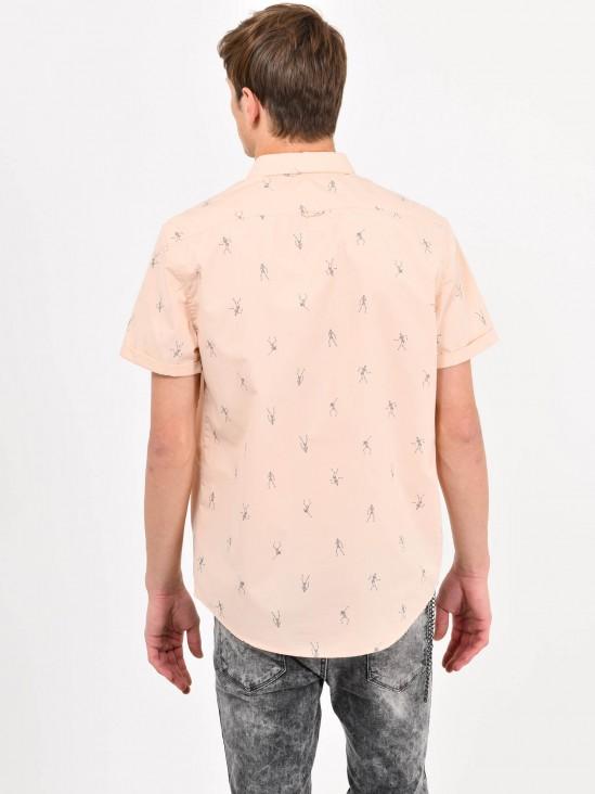 Camisa Gráfico Esqueletos