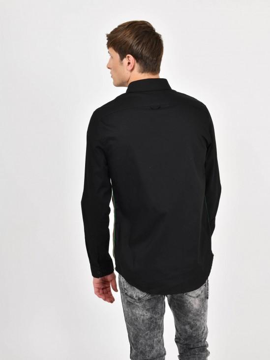 Camisa Franja Contraste