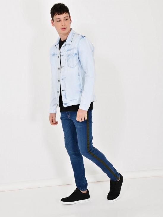 Jeans Banda Lateral