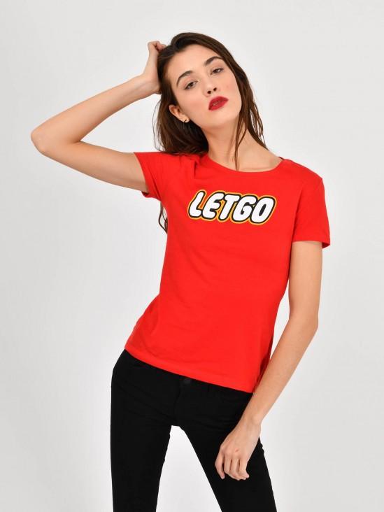 Playera 'Letgo'