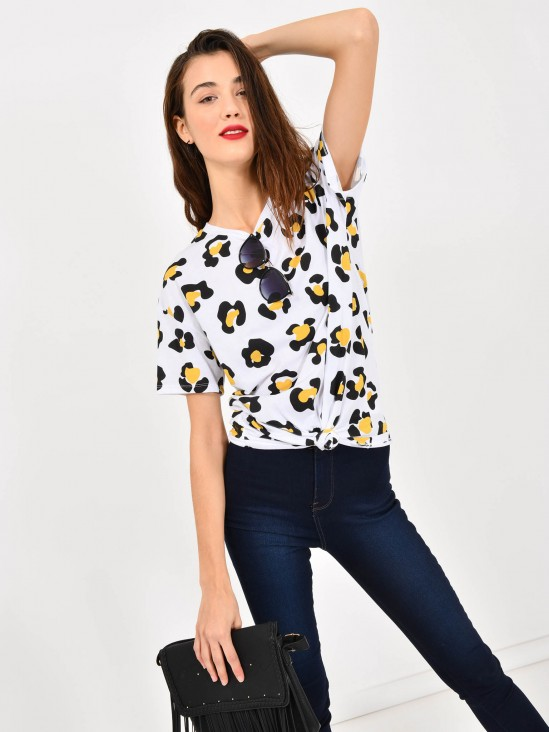 Playera Animal Print