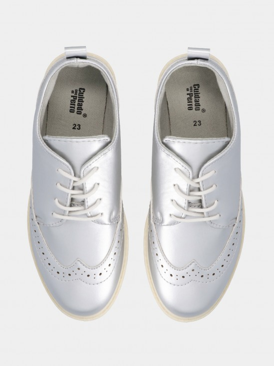 Zapatos Plataforma Metalizados