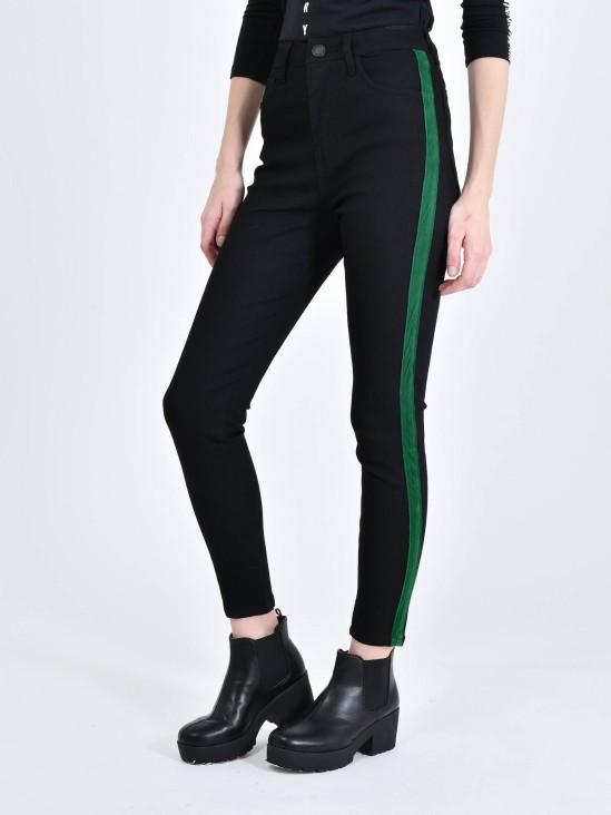 Jeans Contraste Terciopelo