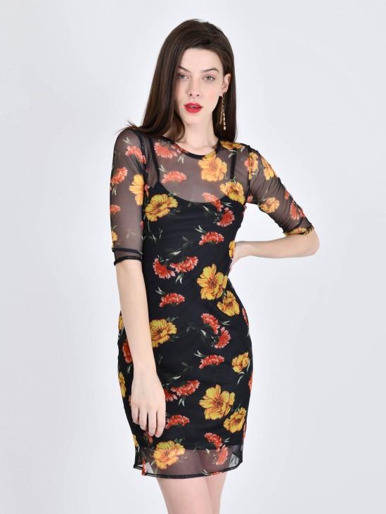 Vestido Flores