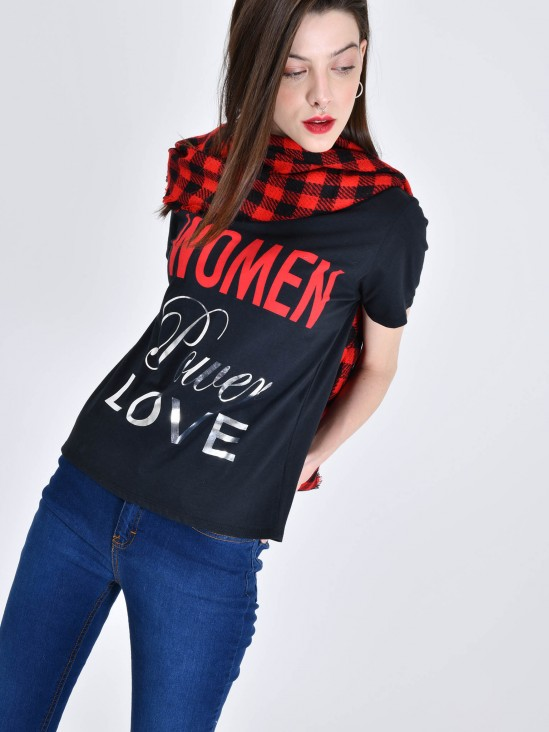 Playera 'Women Power Love'
