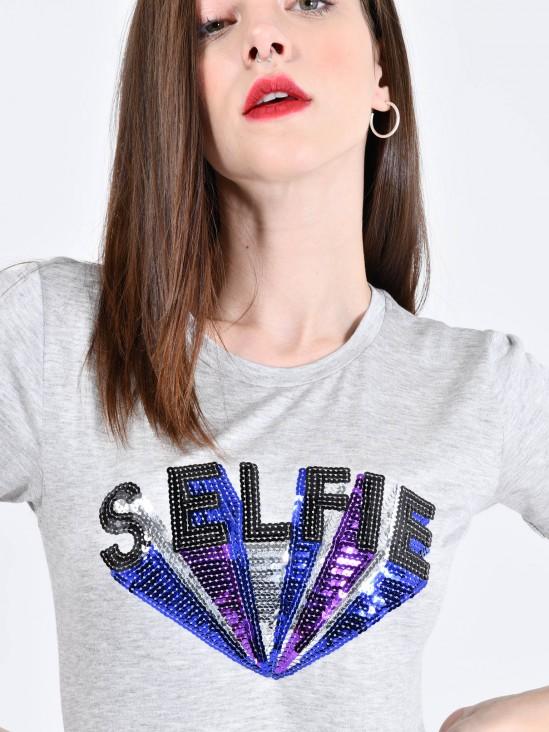 Playera 'Selfie'